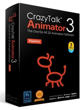 CrazyTalk Animator 4.2.1709.1 Pipeline Crack + License Key Free Download