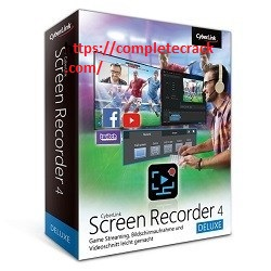CyberLink Screen Recorder Deluxe 4.2.3.8860 Crack With Product Key