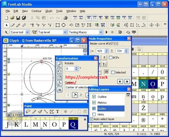 FontLab Studio 7.1.2.7415 Crack With Serial Number {Updated}