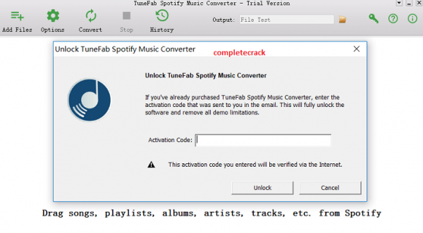 TuneFab Spotify Music Converter 2.9.9 Crack With Keygen Latest 2020