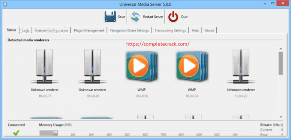 Universal Media Server 9.7.2 Crack & License Key Download Latest 2020