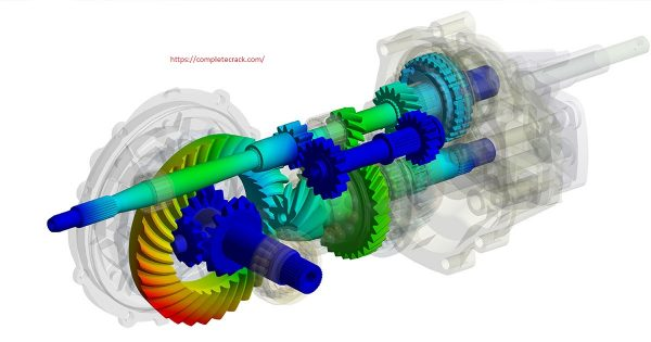 ANSYS Motion Crack
