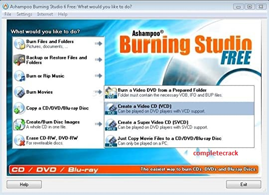 Ashampoo Burning Studio 21.6.1.63 Crack With Activation Key Free Download 2020