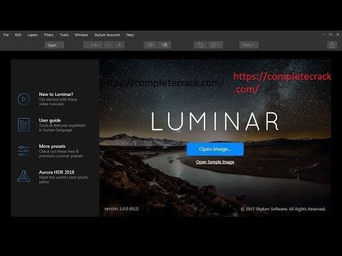 Luminar 4.2.0 Crack & Activation Code Free Download Latest 2020