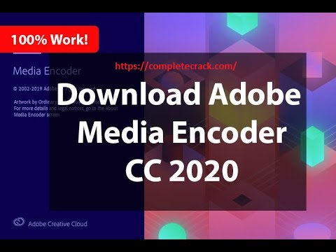 Adobe Media Encoder CC 2020 v14.3.1.39 Crack Full Download {Updated}