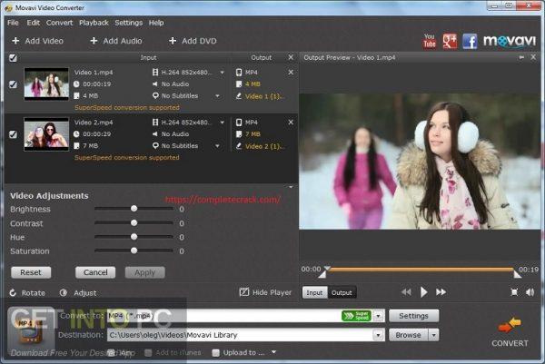 Movavi Video Editor 20.4.0 Crack Plus Activation Key Latest 2020