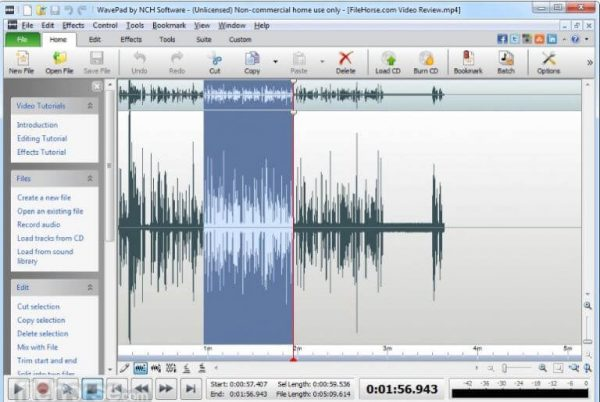 WavePad Sound Editor Masters 10.88 Crack With Serial key [Latest 2020]