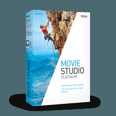 MAGIX VEGAS Movie Studio Platinum 17.0.0.143 Crack + Serial Key