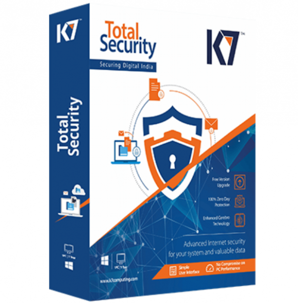 K7 Total Security Crack v16.0.0.0366 + Activation Key [Latest Version] 2021