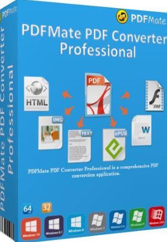 PDFMate PDF Converter Pro 1.89 Crack + Serial Key Latest Download