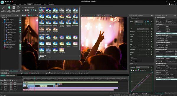 VSDC Video Editor Pro 6.8.3.345 Crack